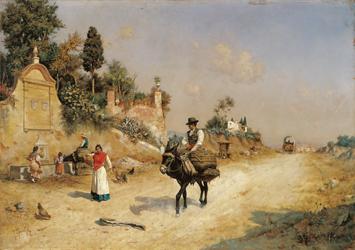 La Fuente de Reding. Guillermo Gómez Gil