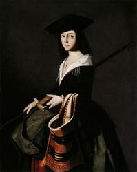 Santa Marina. Francisco de Zurbarán