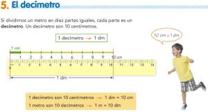 T11.5. El decímetro